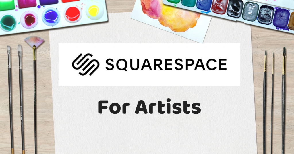 Squarespace for artists title
